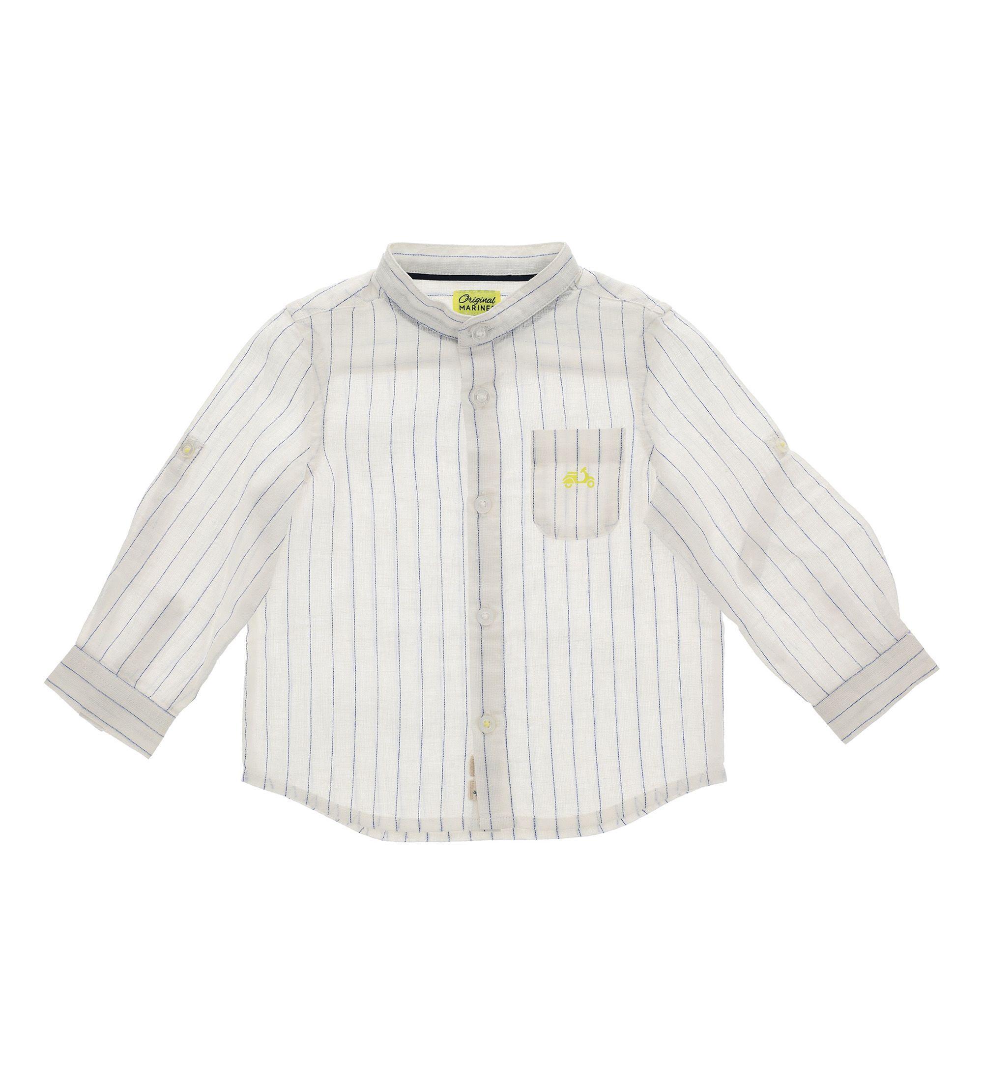 Купить Рубашка с длинным рукавом Original Marines, белый, 80, Мальчики, весна
