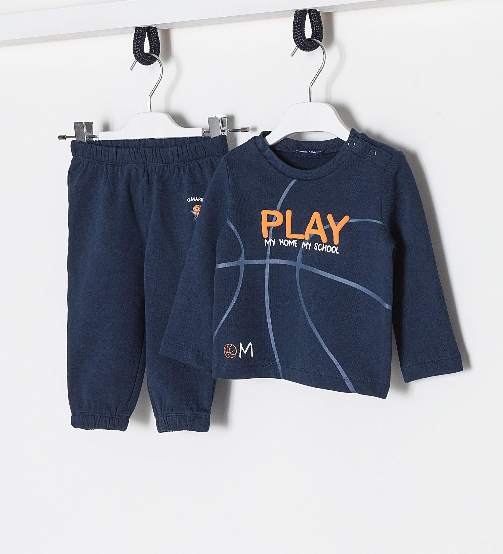 Купить Спортивный костюм, Сп.костюм (толстовка+брюки) Original Marines, синий, 62, Мальчики, весна