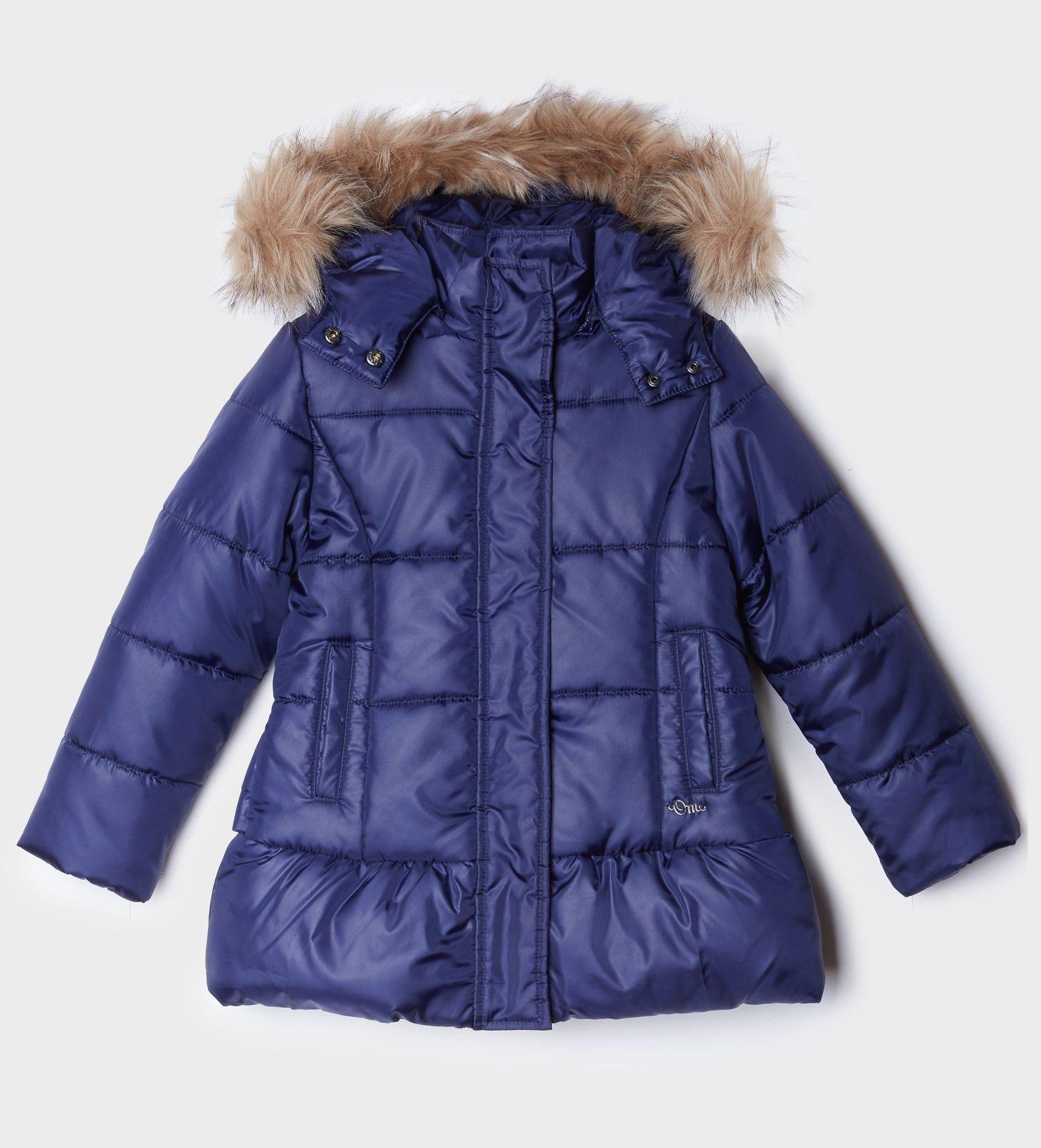 Купить Куртка Original Marines, синий, 116, Девочки, зима