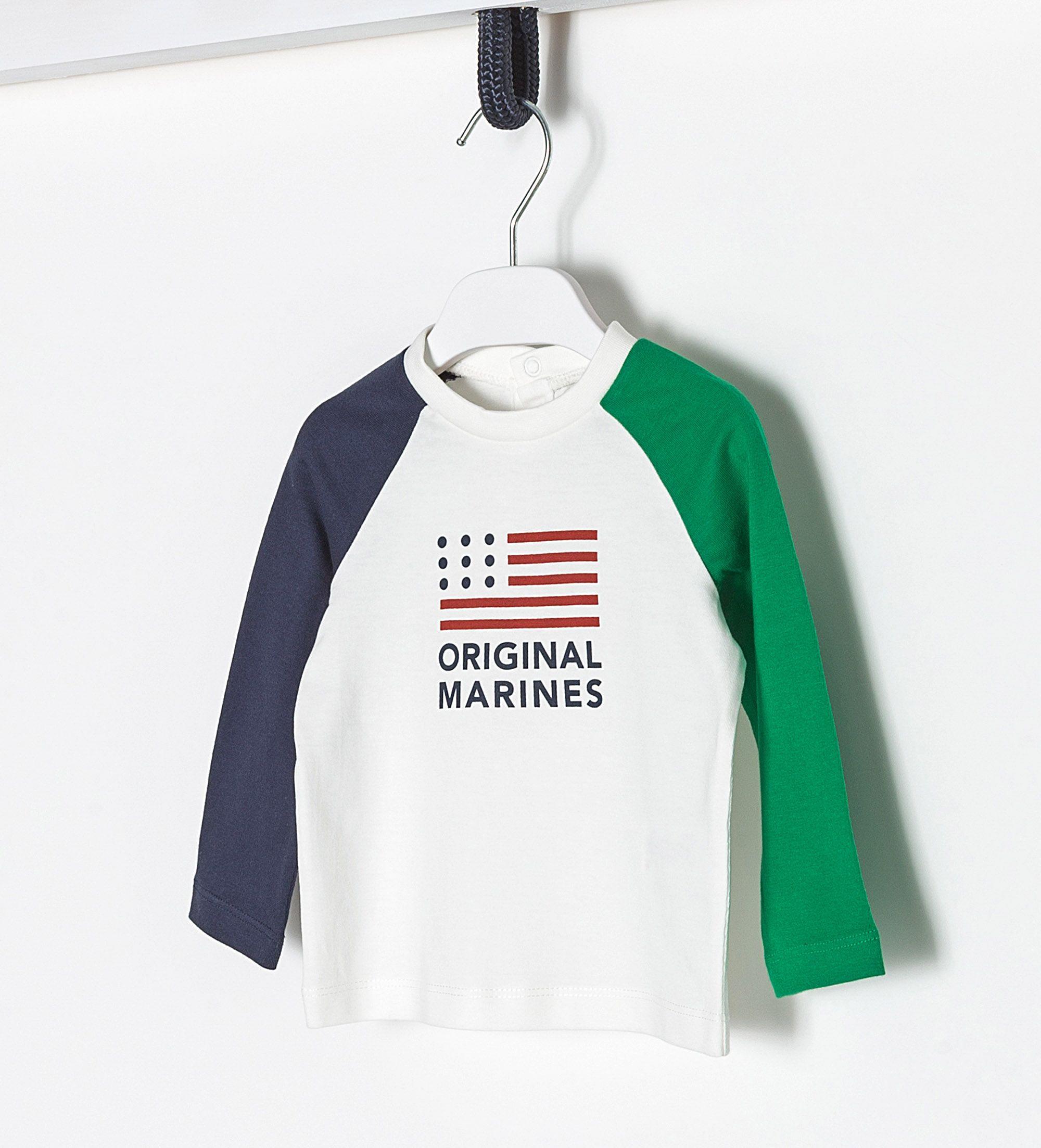 Купить Джемпер, Футболка с длинным рукавом Original Marines, 68, Мальчики, весна