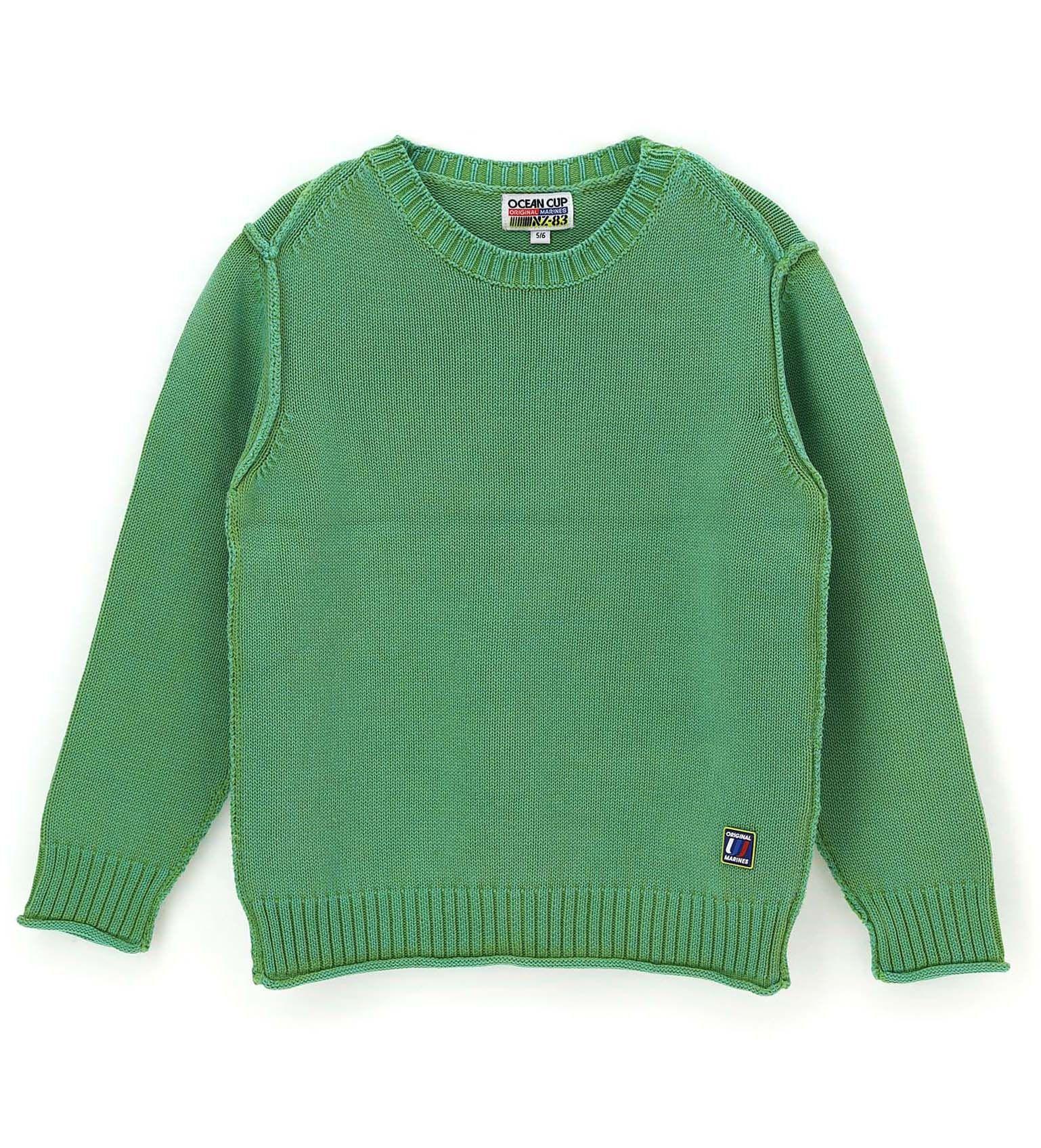 Купить Свитер Original Marines, зеленый, 140, Мальчики, весна
