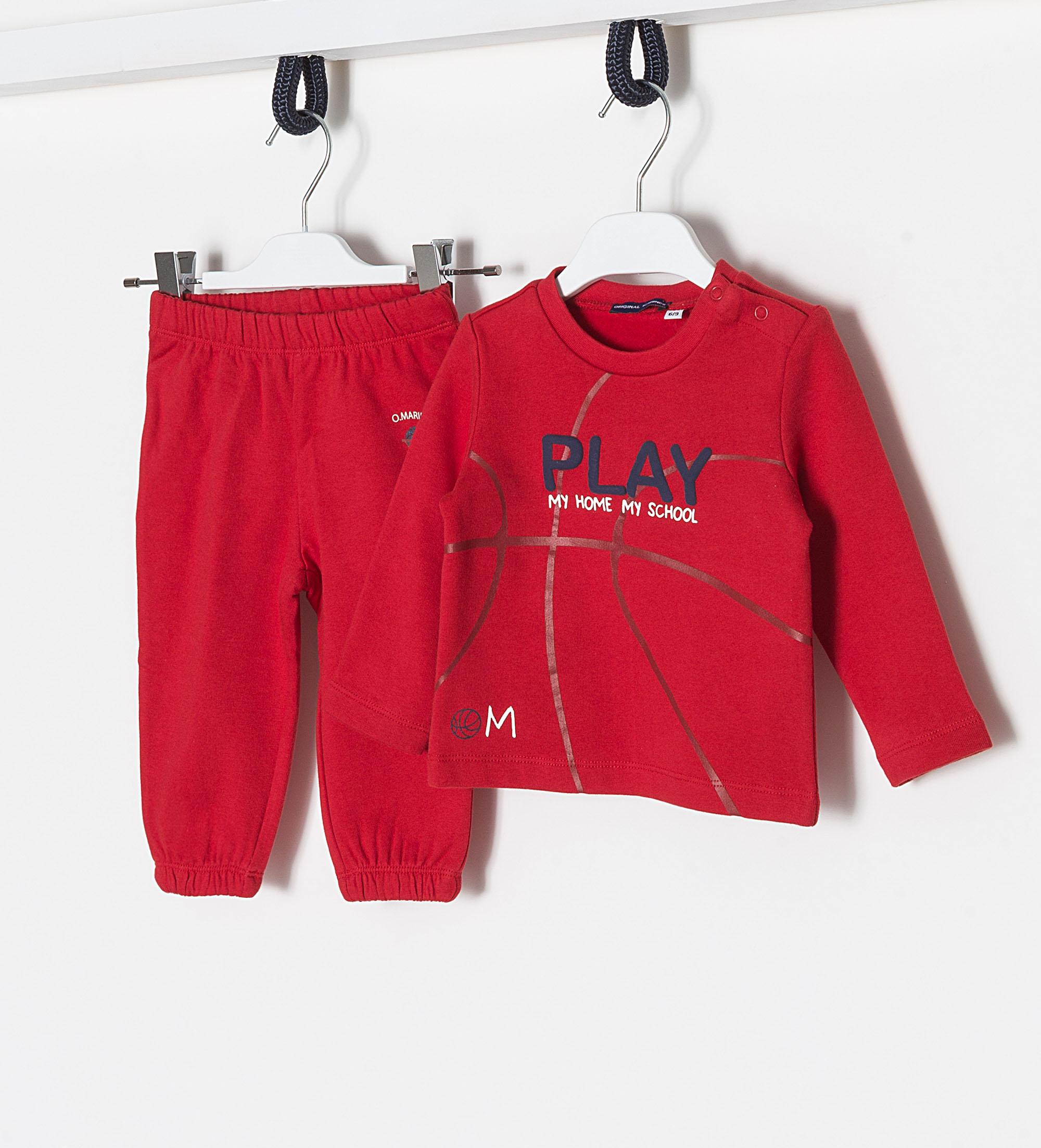 Купить Спортивный костюм, Сп.костюм (толстовка+брюки) Original Marines, красный, 62, Мальчики, весна