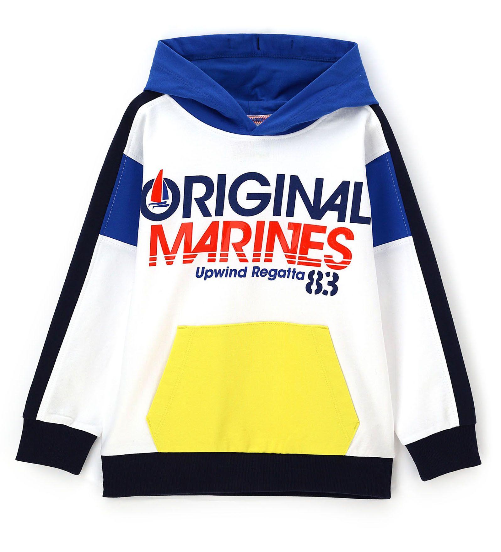 Купить Толстовка Original Marines, белый, 116, Мальчики, весна