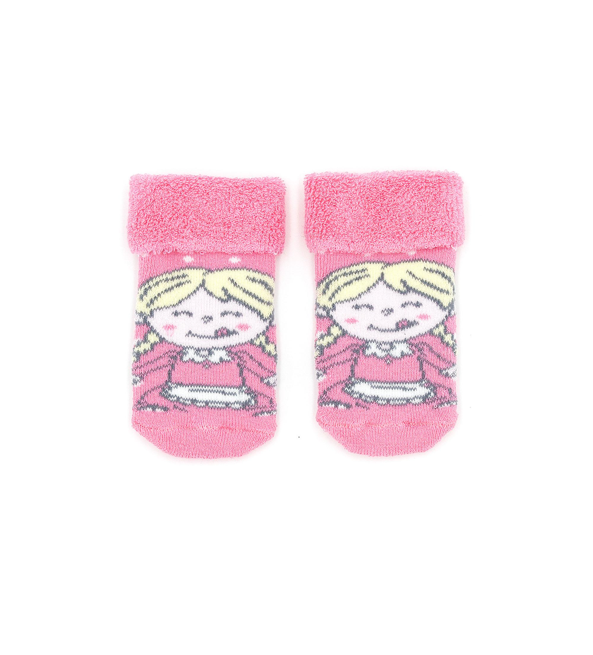 Носки Original Marines, розовый, 10-11, Девочки, зима  - купить со скидкой