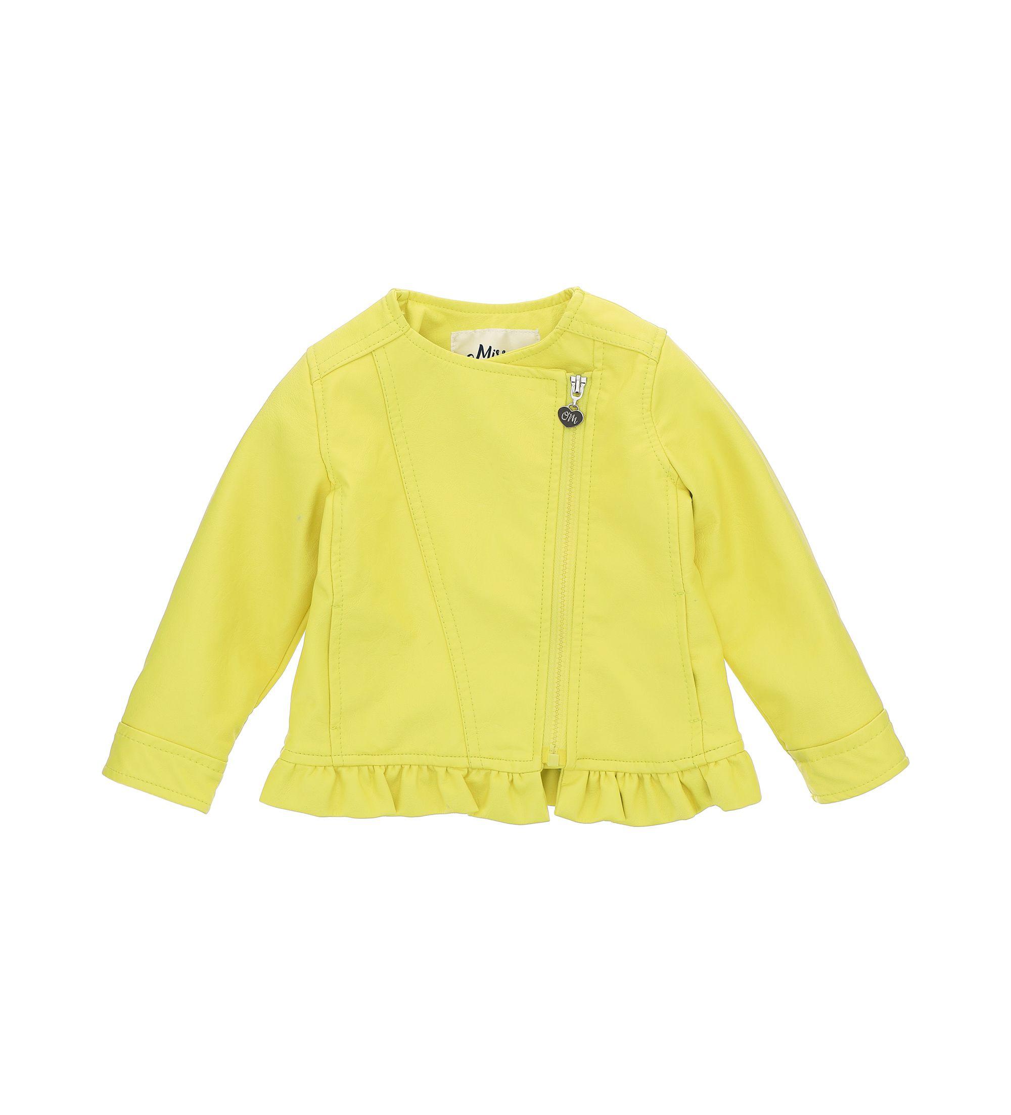 Купить Куртка, экокожа Original Marines, желтый, 68, Девочки, весна
